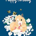 Happy Birthday Card - Hamster Dance art by LeahG by LeahG Artist