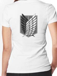 Anime - Titan Women's Fitted V-Neck T-Shirt