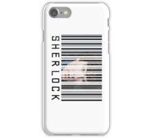 Sherlock Barcode iPhone Case/Skin