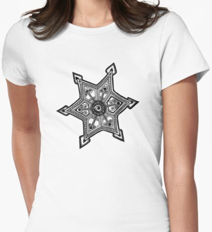 D20130522 Doodle Tattoo Womens Fitted T-Shirt