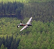 Dambusters 70 Years On - Flypast At The Derwent Dam - 3 by Colin J Williams Photography