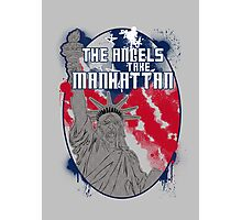 the angels take Manhattan Photographic Print