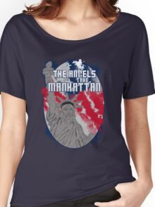 the angels take Manhattan Women's Relaxed Fit T-Shirt
