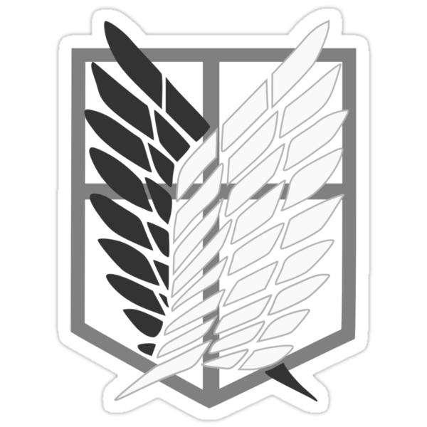 Anime - Shingeki no Kyojin (Manga/Transparent Shield Fill) by Nuriox