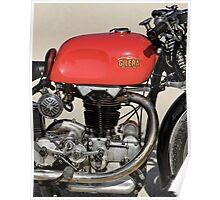 """Gilera Otto Bulloni """"Milano-Taranto"""" Engine Poster"""