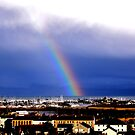 Rainbow over Pwllheli by shanyrich