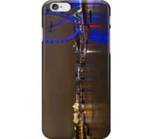 Central London, River Thames and London Eye iPhone Case/Skin