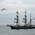Belem French Training Ship At  Lyme.Dorset.UK  by lynn carter