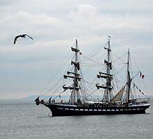 Belem French Training Ship At  Lyme.Dorset.UK  by lynn carter