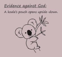 Evidence Against God: Koala by Sauropod8