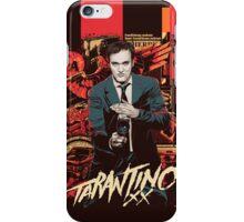 Tarantino 20 Years of Filmmaking iPhone Case/Skin