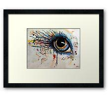 Blink of eyes - 1 Framed Print