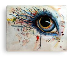 Blink of eyes - 1 Canvas Print
