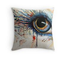 Blink of eyes - 1 Throw Pillow