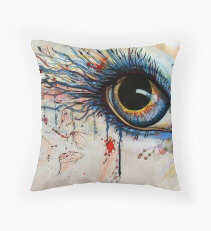 Blink of eyes - 1 Throw Pillow