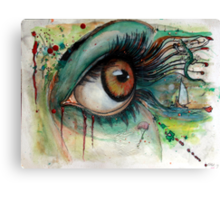 Blink of eyes - 2 Canvas Print