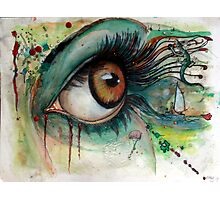 Blink of eyes - 2 Photographic Print