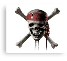 Pirates Caribbean Canvas Print