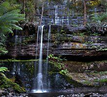 Russell Falls - Tasmania by Steve Bass