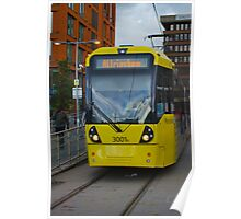 Manchester Tram Poster