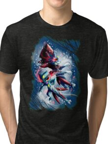 Sneasel and Weavile Tri-blend T-Shirt