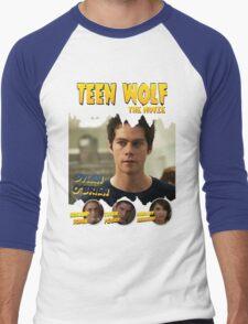 Teen Wolf Old Comic [Stilinski] Men's Baseball ¾ T-Shirt