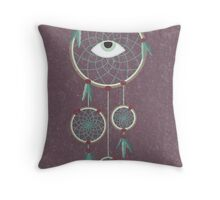Eye Caught a Dream Throw Pillow