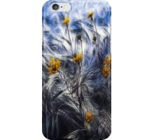 against the wind iPhone Case/Skin