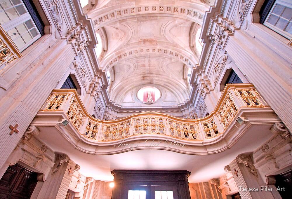 coro alto. Igreja da Memória. by terezadelpilar~ art & architecture