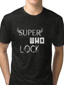 Super Who Lock Tri-blend T-Shirt