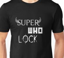 Super Who Lock Unisex T-Shirt