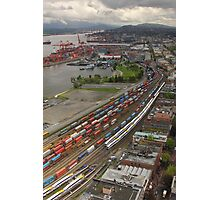 Vancouver Downtown East Side From Above Photographic Print