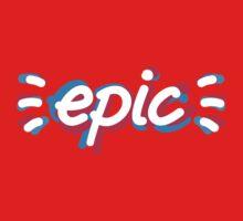 Epic 2. Dark background Kids Tee