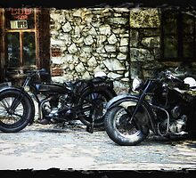 A Blast From the Past - Classic Motorcycles by Doreen Erhardt