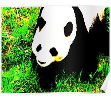 PANDA!monium - green Poster