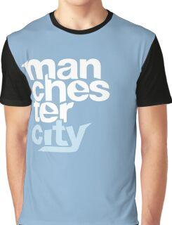 Manchester City Football Club - TEXT Graphic T-Shirt