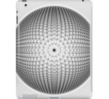 Monochrome Sphere iPad Case/Skin