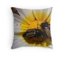 Guess Who's Coming to Dinner  Throw Pillow