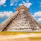 Yucatan Summer - Great Pyramid at Chichen Itza by Mark Tisdale