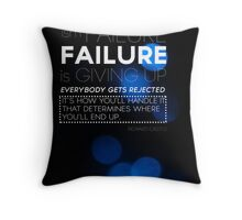 Rejection Isn't Failure Throw Pillow