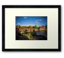 Old Dee Bridge Chester Framed Print