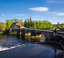 Grosvenor Bridge Chester by mlphoto