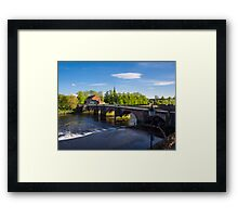 Grosvenor Bridge Chester Framed Print