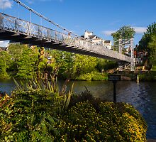 Queens Park Bridge Chester by mlphoto