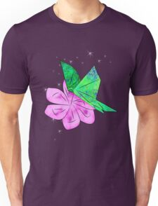 Origami Butterfly Unisex T-Shirt