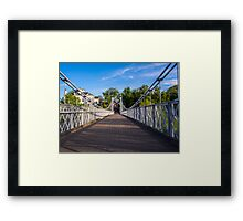 Queens Park Bridge Chester Framed Print