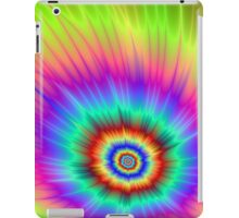 Tie dye Color Explosion iPad Case/Skin
