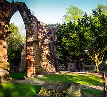 St John's Abbey Ruins Chester by mlphoto