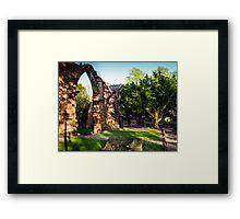 St John's Abbey Ruins Chester Framed Print