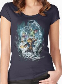 Dark Dawn heroes Women's Fitted Scoop T-Shirt